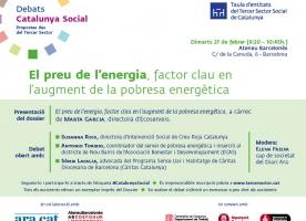 Debat Catalunya Social sobre pobresa energètica, 27 de febrer