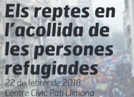 Jornada 'Els reptes en l'acollida de persones refugiades', 22 de febrer