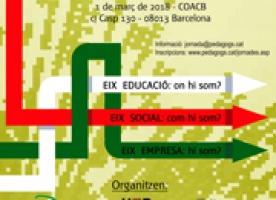 I Jornada Universitats – COPEC sobre pedagogia al s.XXI, 1 de març