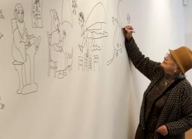 Taller de dibuix amb Pilarín Bayés, 9 de març