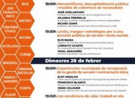 Jornades 'Serveis públics i drets socials', 27 i 28 de febrer
