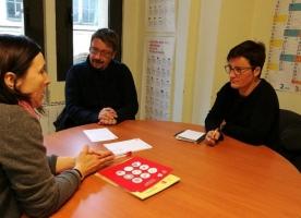 Reunió d'ECAS amb diputats de Catalunya En Comú – Podem