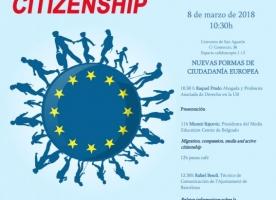 Taula Rodona 'Noves Formes de Ciutadania Europea', 19 de març