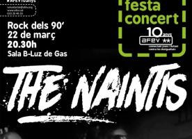 Concert de The Naintis per celebrar el 10è aniversari d'AFEV, 22 de març