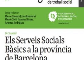 Presentació d'un monogràfic sobre els serveis socials bàsics a la província de Barcelona, 17 d'abril