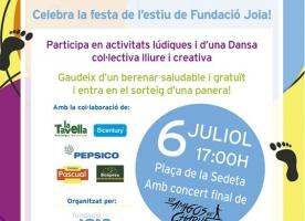 Firafest 2018, la festa d'estiu de la Fundació Joia, 6 de juliol