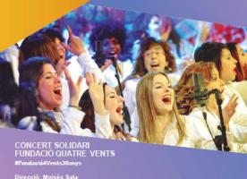 Concert solidari de gospel per celebrar els 30 anys de la Fundació Els Quatre Vents, 28 de setembre