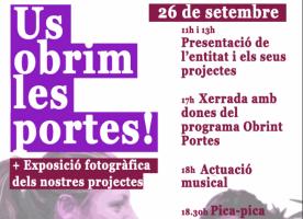 Jornada de portes obertes de la Fundació Surt, 26 de setembre