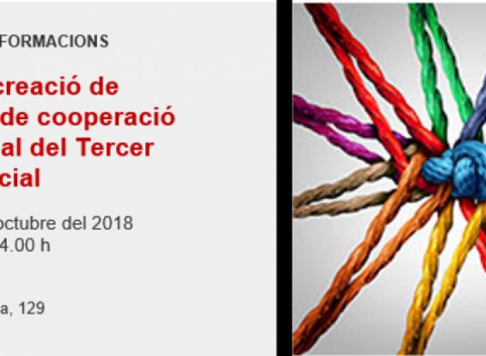 Taller de creació de projectes de cooperació empresarial del tercer sector social, octubre