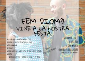 Festa de la cooperativa Diomcoop, 30 de setembre