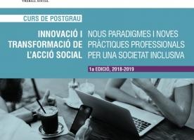 Sessió informativa del Postgrau en innovació i transformació de l'acció social, 4 d'octubre