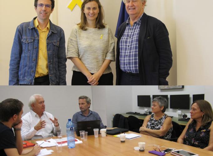Activitat internacional: reunions amb ESAN i la Generalitat a Brussel·les