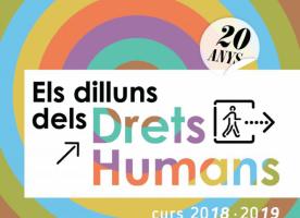 Comença la 20ª edició del cicle de conferències 'Dilluns dels Drets Humans'