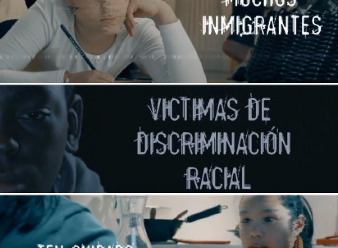 Presentació de la campanya de prevenció i detecció del racisme 'Quiero verte', 30 d'octubre