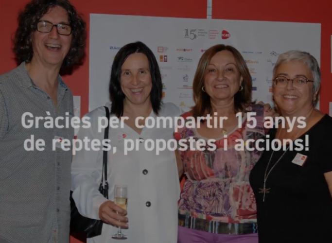 Vídeo de la celebració dels 15 anys d'ECAS