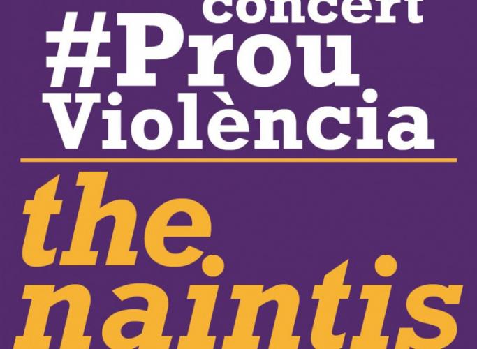"""Concert #ProuViolència per celebrar el 65è aniversari de l'Associació """"in via"""""""
