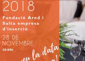 Sopar solidari de la Fundació Ared i Salta, 28 de novembre