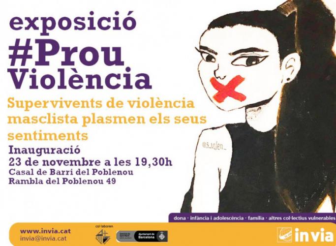 Exposició d'obres fetes per supervivents de violència masclista, del 23 al 30 de novembre