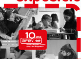Exposició '10 anys d'AFEV' a La Bàscula fins el 30 de novembre
