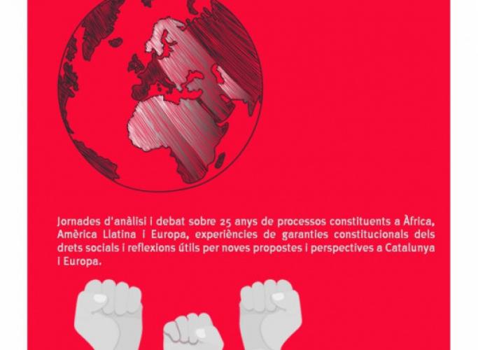 Jornades 'Constitucionalització de drets socials', 20 i 22 de novembre
