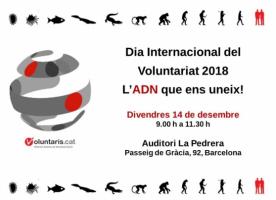 Dia internacional del Voluntariat a Barcelona, 14 de desembre