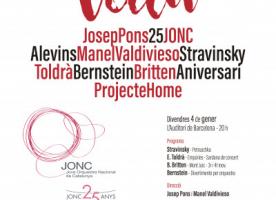 'Vida', concert Solidari de la JONC en favor Projecte Home, 4 de gener