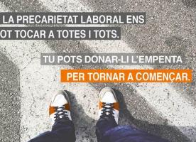 'Tornar a començar', campanya per recollir fons d'ajut per emprenedors