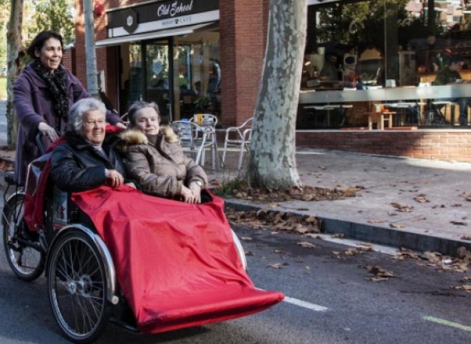 Campanya de captació de fons 'En bici sense edat'