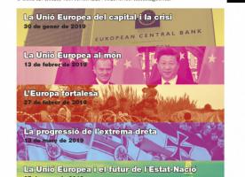 Cicle de conferències 'On vas Europa?', de gener a març