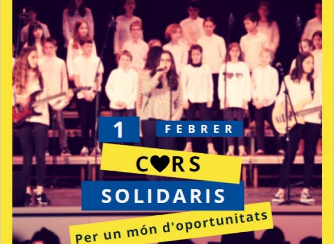 4ª edició del concert 'Cors solidaris' en favor de la Fundació Comtal, 1 de febrer