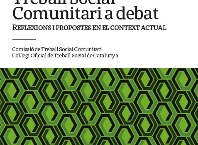 Nova publicació sobre treball comunitari del Col·legi del Treball Social