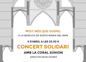 Concert solidari 'Molt més que gospel', 5 d'abril