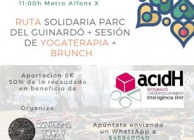 Ruta solidària i sessió de ioga a favor d'acidH, 17 de març