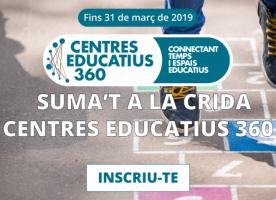 Crida Centres Educatius 360