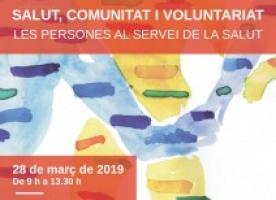 VI jornada de voluntariat i salut a Girona, 28 de març