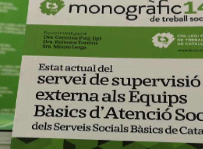 Presentació de l'informe de Supervisió als Serveis Socials Bàsics, 10 d'abril