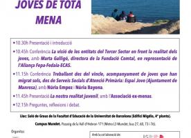 Jornada 'El treball amb joves de tota mena', 26 d'abril a la Universitat de Barcelona