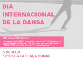 Dia internacional de la Dansa, 5 de maig