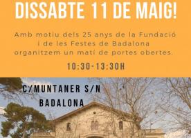 Matí de portes obertes a Can Banús, 11 de maig
