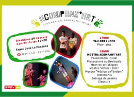 Acompany 'art, jornada de compromís social,  24 de maig