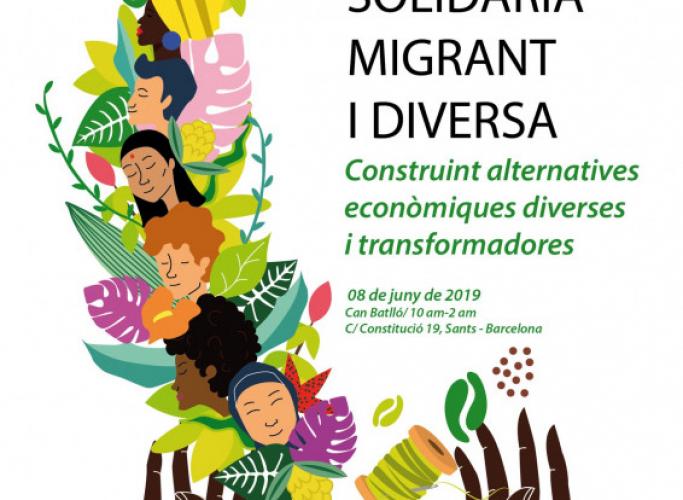I Fira d'Economia Solidària, Migrant i Diversa, 8 de juny