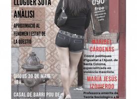 Xerrada-debat 'La prostitució i ventres de lloguer sota anàlisi', 30 de maig