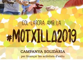 #Motxilla2019, campanya per finançar les activitats d'estiu d'infants i adolescents de La Salut Alta