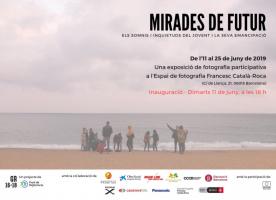 Exposició fotogràfica 'Mirades de futur' realitzada per joves en darrera fase de tutela