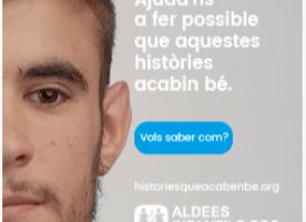 Aldees infantils SOS Catalunya llança la campanya 'Històries que acaben bé'