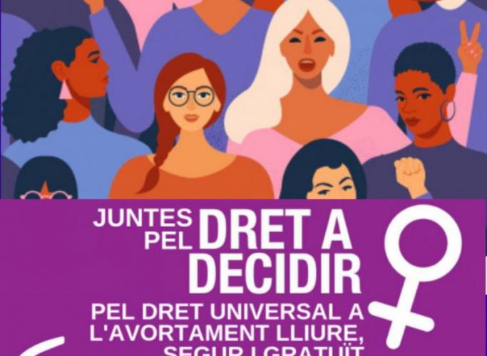 Campanya a favor de l'avortament universal a Catalunya