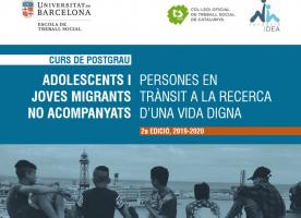 2a edició del postgrau sobre adolescents i joves migrants no acompanyats