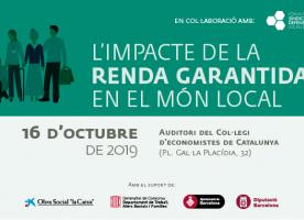'Quin és l'impacte de la renda garantida en el món local?', 16 d'octubre