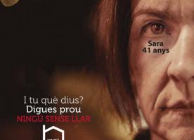 Campanya 'I tu què hi dius? Digues prou. Ningú sense llar': flashmob i xerrada a Lleida