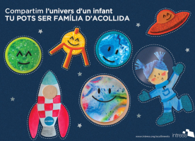 Campanya d'acolliment familiar 'Compartim l'univers d'un infant'